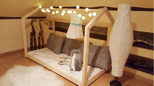 Lit cabane Bella 80 x 160cm