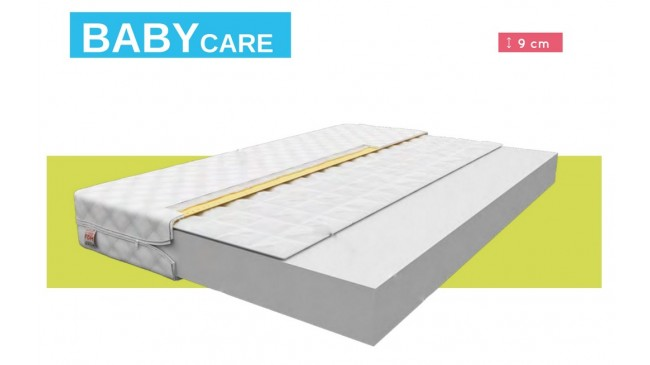 Die Schaummatratze Baby Care 120 x 60 cm