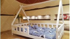 Lit cabane TIPI LILA Couleur 80 x 190cm