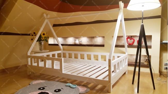 Lit cabane TIPI LILA Couleur 90 x 190cm