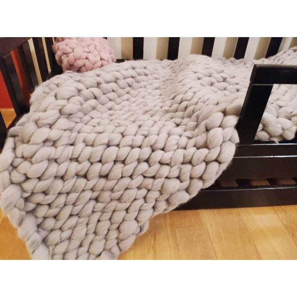 Couvertures douces, couverture en laine mé