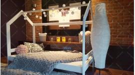 Lit cabane Milos Couleur 60 x 120cm