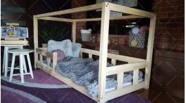 Lit cabane Box Kalia 90 x 190cm