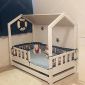 Did you like pirates? Agrrrrrr... Alline our customer transform our house bed to pirates boat. It look very fantastic. This is creative mind. Please check it in attachment and give a lot of like to Alline and her idea :) #creative #mind #idea #room #kids #sleeping #house #bed #pirates #handmade #interiordesign #france #uk #germany