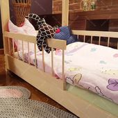 Please be advised that the delivery time is currently only 15 days for all our products including Lisa Wooden House :) #housebed #housebeds #house #bed #interiodesign #kinderzimmer #kinderzimmerideen
