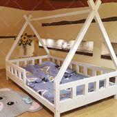 Tipi is here :) #housebed #housebeds #house #bed #housebed #hausbett #interiordesign #kinderzimmer #kinderzimmerideen