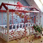 Auf der Suche nach einem Geschenk? Vielleicht wird das Hausbett in Ordnung sein? Folge uns :) #housebed #housebeds #house #bed #housebed #hausbett #interiordesign #kinderzimmer #kinderzimmerideen