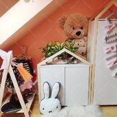 Es ist Zeit für neue Produkte von Oliveo - Kleiderbügel - Kommode - KleiderschrankBitte schau uns nach einem neuen Beitrag#housebed #housebeds #house #bed #hausbett #interiordesign #kinderzimmer #kinderzimmerideen
