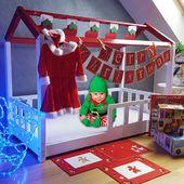 Now it's time for Christmas Edition of House Bed. What do you think, would you like to get such a bed?Jetzt ist es Zeit für die Weihnachtsedition von House Bed. Was denkst du, möchtest du so ein Bett haben?#house #bed #housebed #hausbett #interiordesign #kinderzimmer #kinderzimmerideen